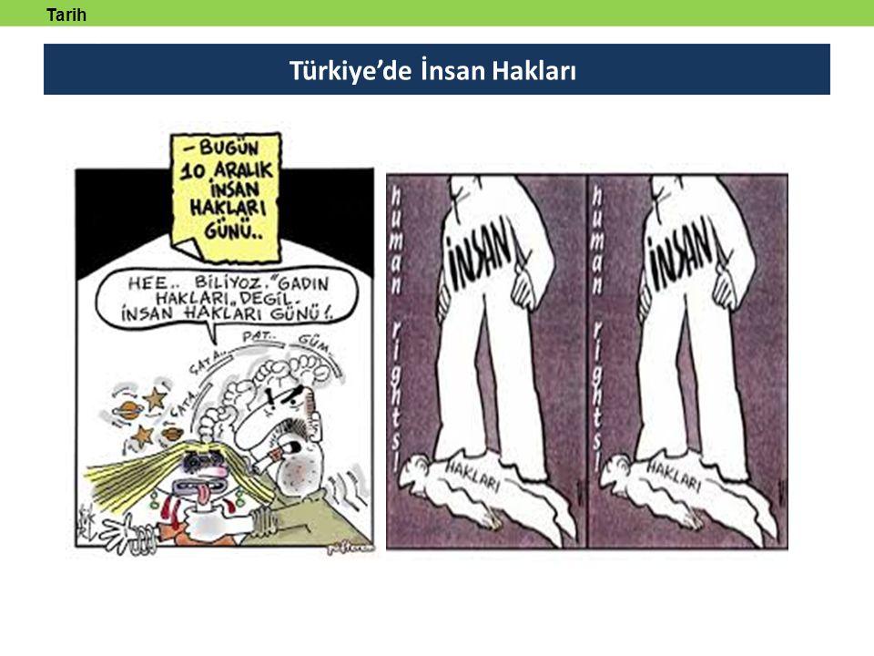 Türkiye'de İnsan Hakları Tarih tanmlayabilecek