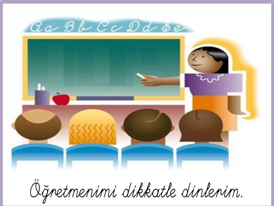 Okul Kuralları √ Okul bizim ikinci yuvamızdır.√ Arkadaşlarla ve çalışanlarla birer aileyiz.