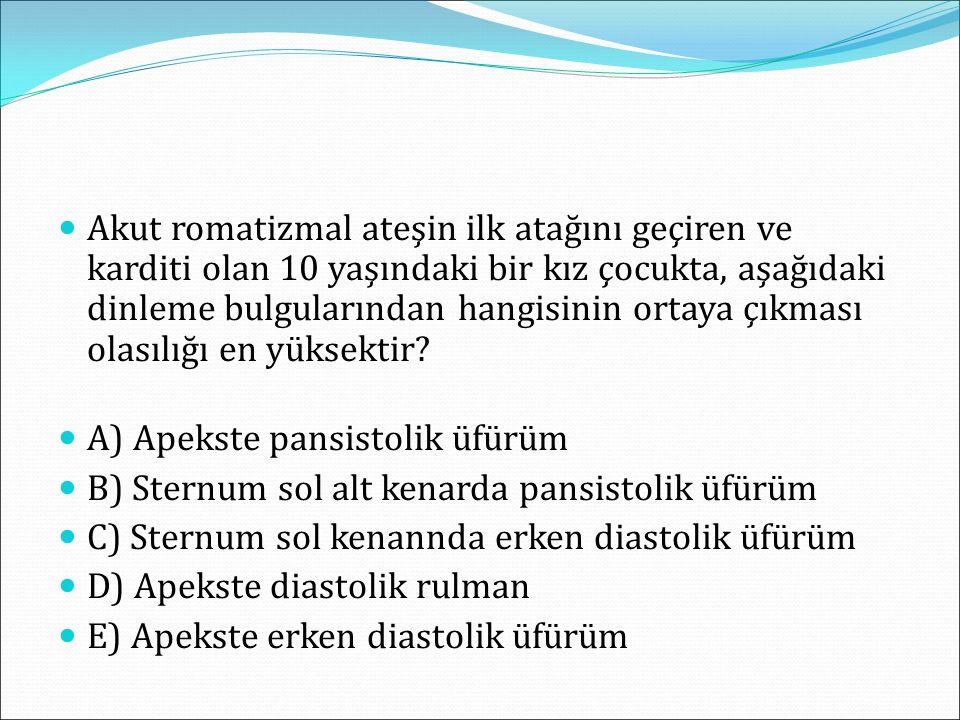 Ciddi Aort koarktasyonu olan bir yenidoğan bir bebekte operasyon öncesi aşağıdakilerden hangisinin uygulanması uygundur.