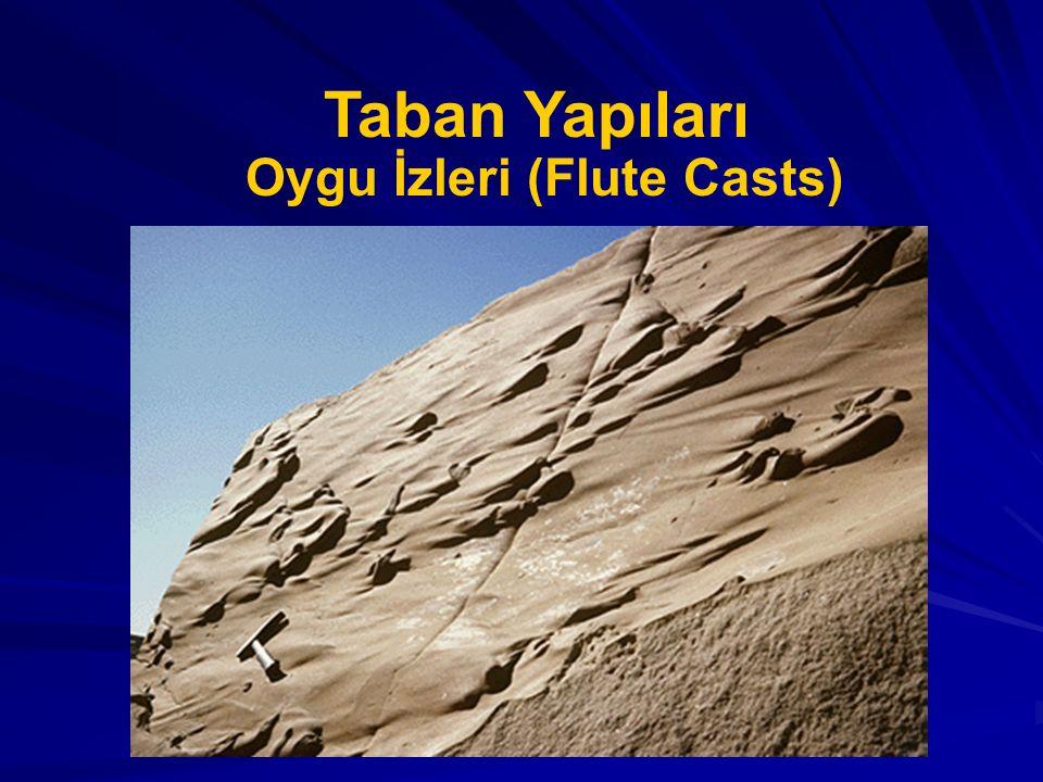 Taban Yapıları Oygu İzleri (Flute Casts)
