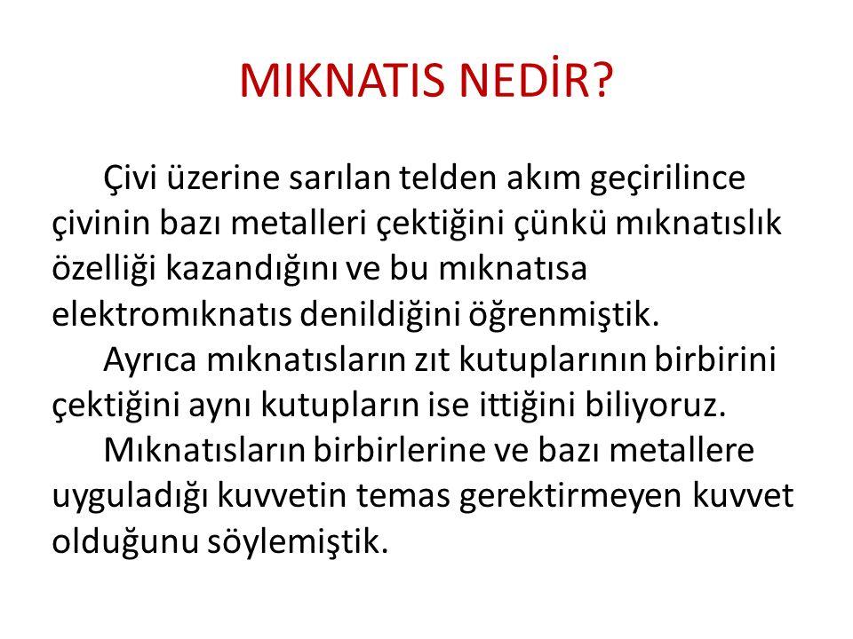 MIKNATIS NEDİR.