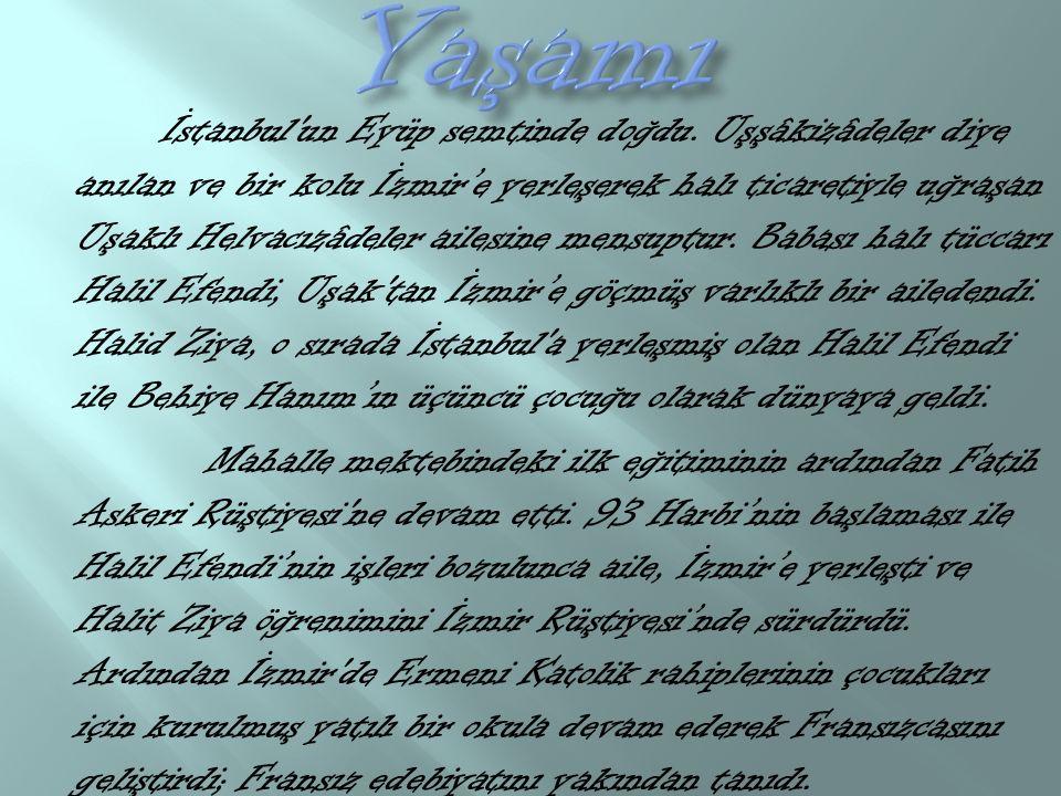 İstanbul un Eyüp semtinde doğdu.