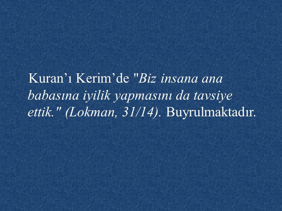 Kuran'ı Kerim'de