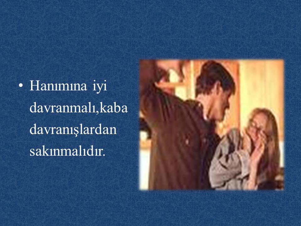 Kuran'ı Kerim'de şöyle buyrulmaktadır: Anne babaya güzellikle muamele edin, eğer onlardan biri veya ikisi senin yanında ihtiyarlık hâline ulaşırsa sakın onlara öf bile deme, onları azarlama, ikisine de iyi ve yumuşak söz söyle (Lokman, 31/14).