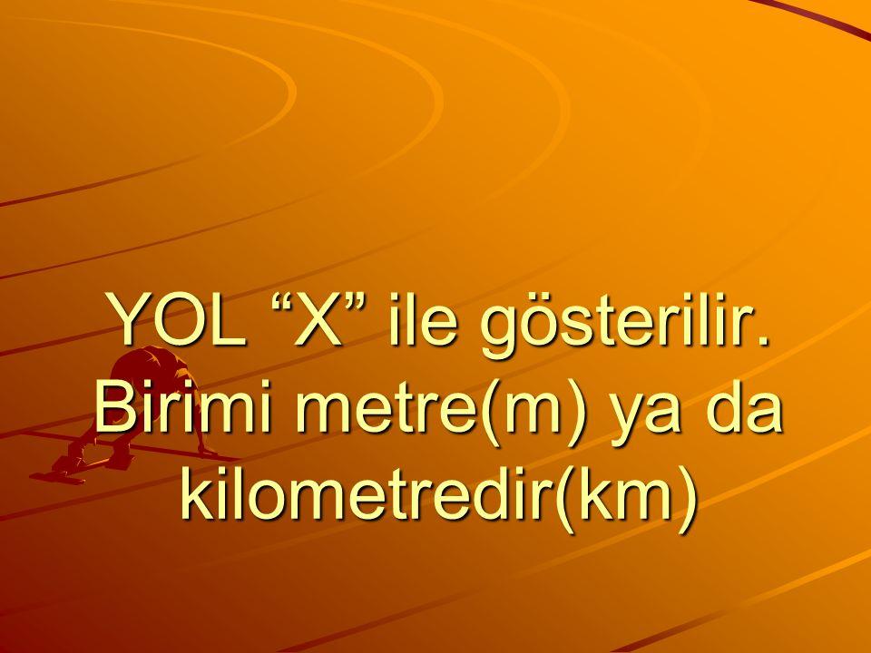 YOL=HIZ X ZAMAN