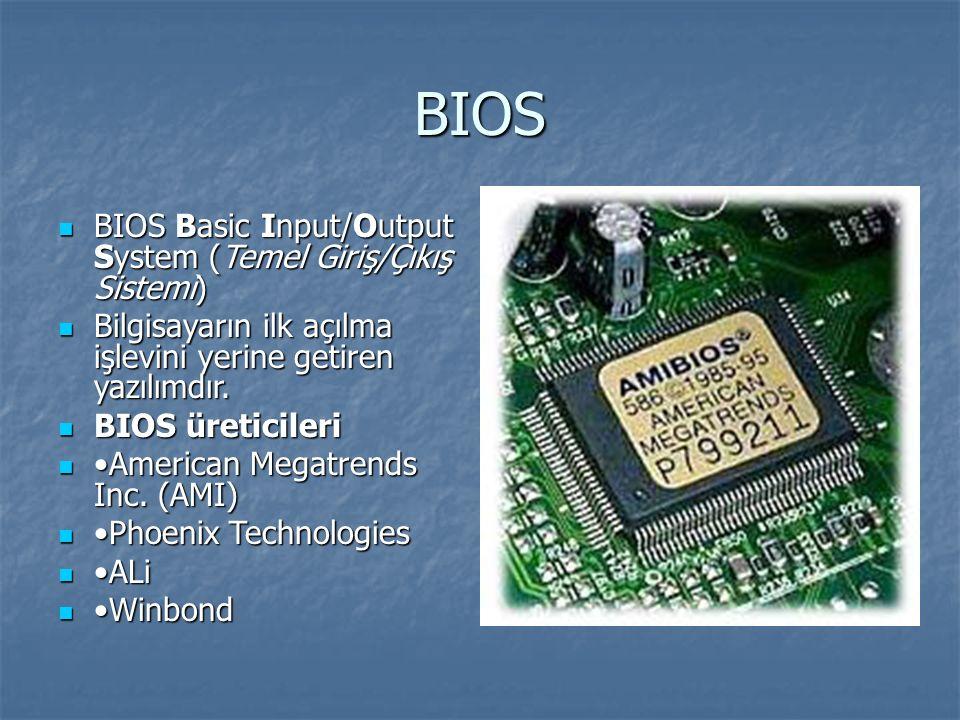BIOS Nedir.Ne İşe Yarar.