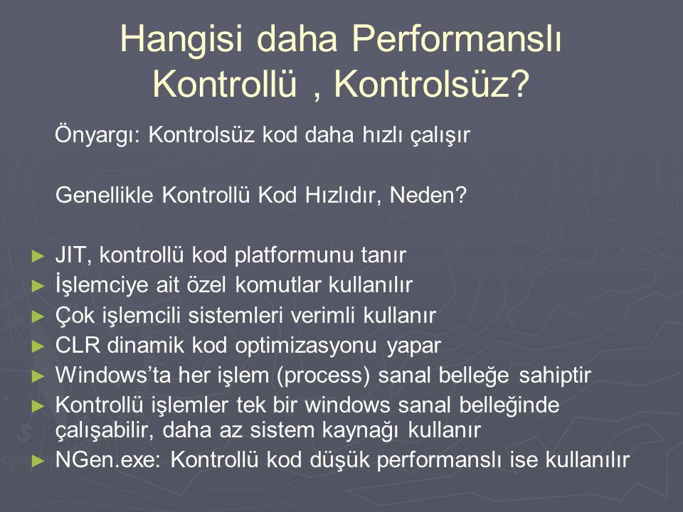 2. Hafta.NET MİMARİSİ-2