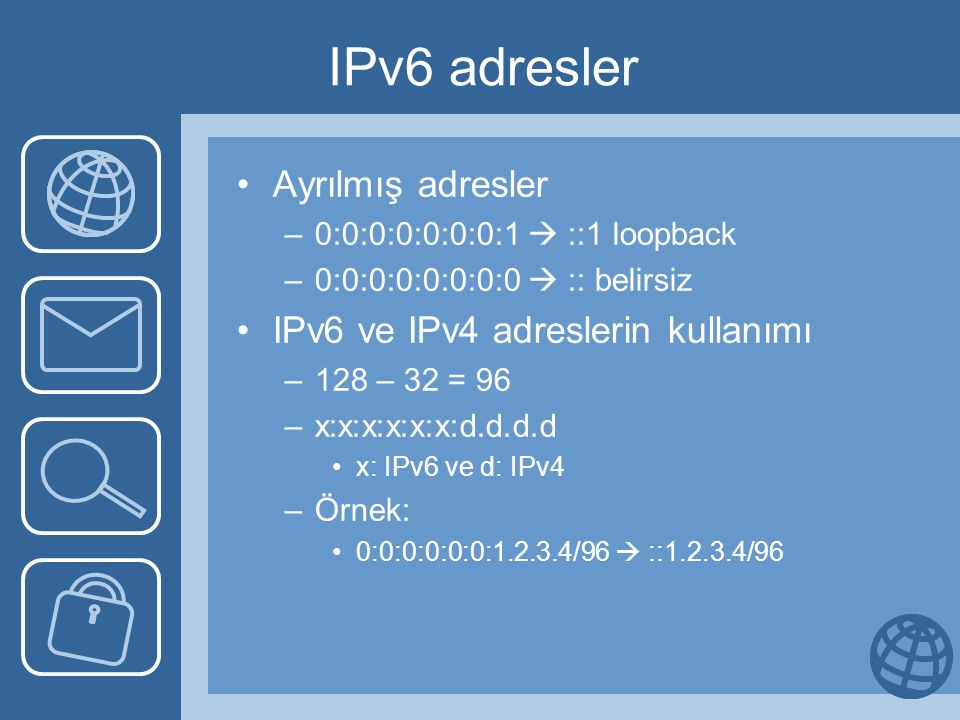 IP and IPv6