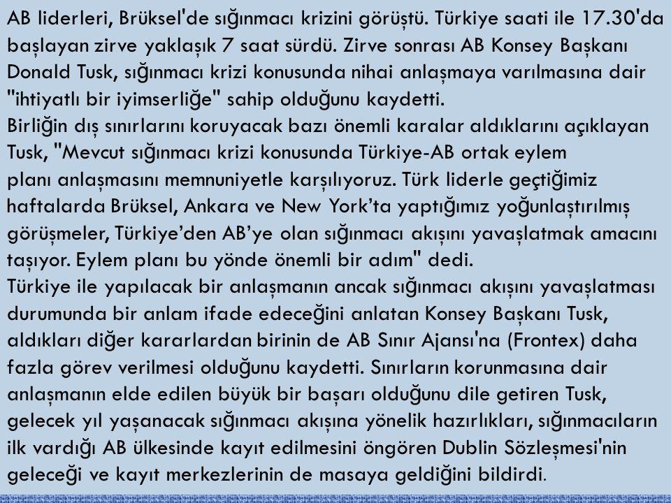 Türkiye'nin Yardımı Şart.