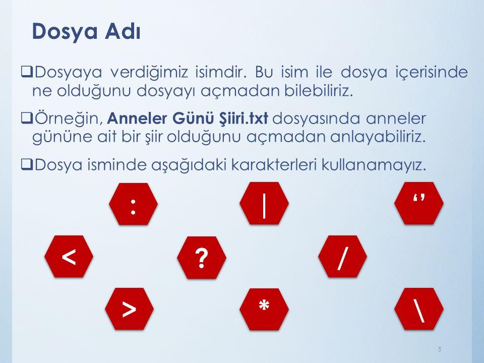 Nokta  Dosya adı ile dosya uzantısı ayıran işarettir. Tüm dosyalarda bulunur. İstiklal Marşımp3 6
