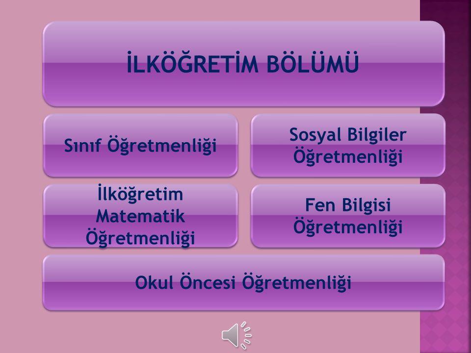 BÜLENT ECEVİT ÜNİVERSİTESİ Ereğli Eğitim Fakültesi
