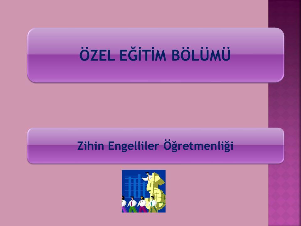TÜRKÇE BÖLÜMÜ Türkçe Öğretmenliği