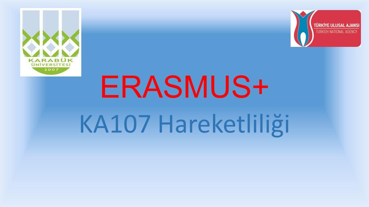 Erasmus+ KA107 Hareketliliğin Erasmus KA103 Hareketliliğinden Farkı Nedir.