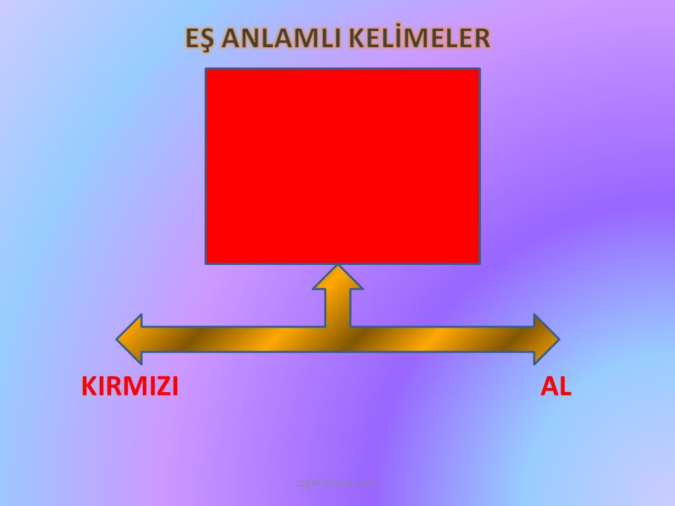 KIRMIZI AL …Egitimhane.com…