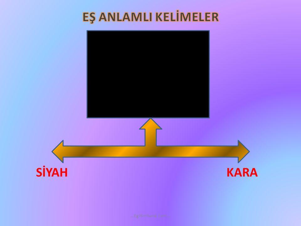 EŞ ANLAMLI KELİMELER NEHİRIRMAK …Egitimhane.com…