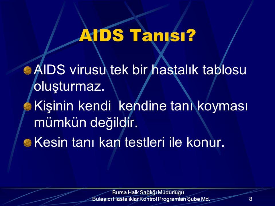 HIV virusu ile enfekte kişi herhangi bir belirti göstermeyip sağlıklı görünebilir, fakat AIDS'i başkalarına bulaştırır.