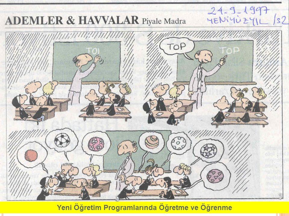 2 Yeni Öğretim Programlarında Öğretme ve Öğrenme