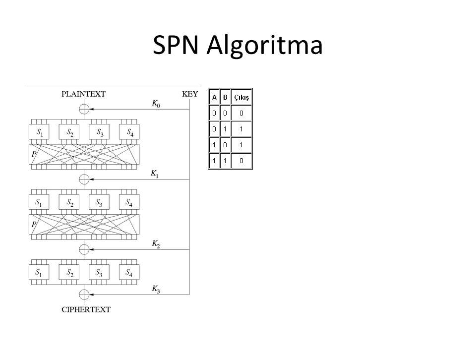 SPN Algoritma