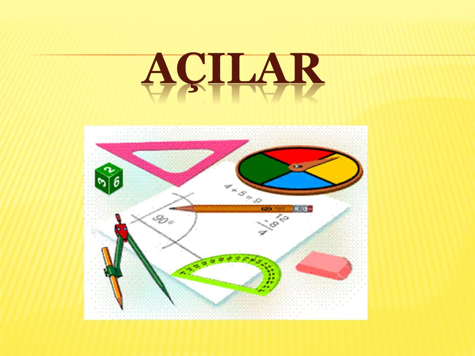 İKİ EŞ AÇI ACB ' nın iç bölgesinde yer alan [ CD 'ı,ACB ' nı iki eş açıya Bu nedenle; [CD, ACB ' nın açıortayıdır.