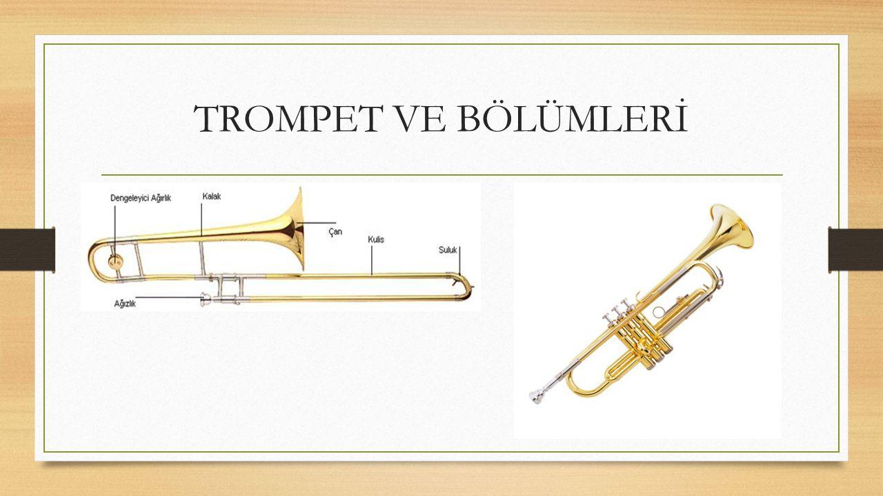 Jazz Müziği Enstrümanları TROMPET: Bakırdan yapılmış üflemeli çalgıdır. Genelde İki Trompet Vardır: Basit trompet;bir temel notanın armonik seslerini