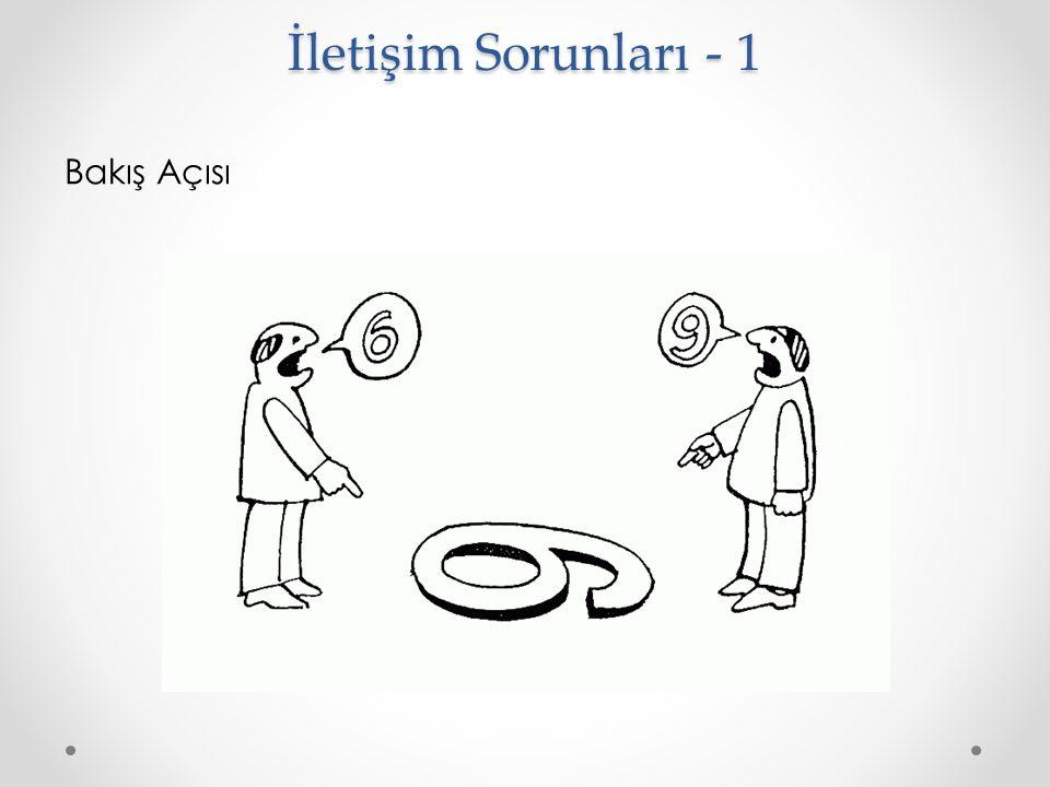 Bakış Açısı İletişim Sorunları - 1