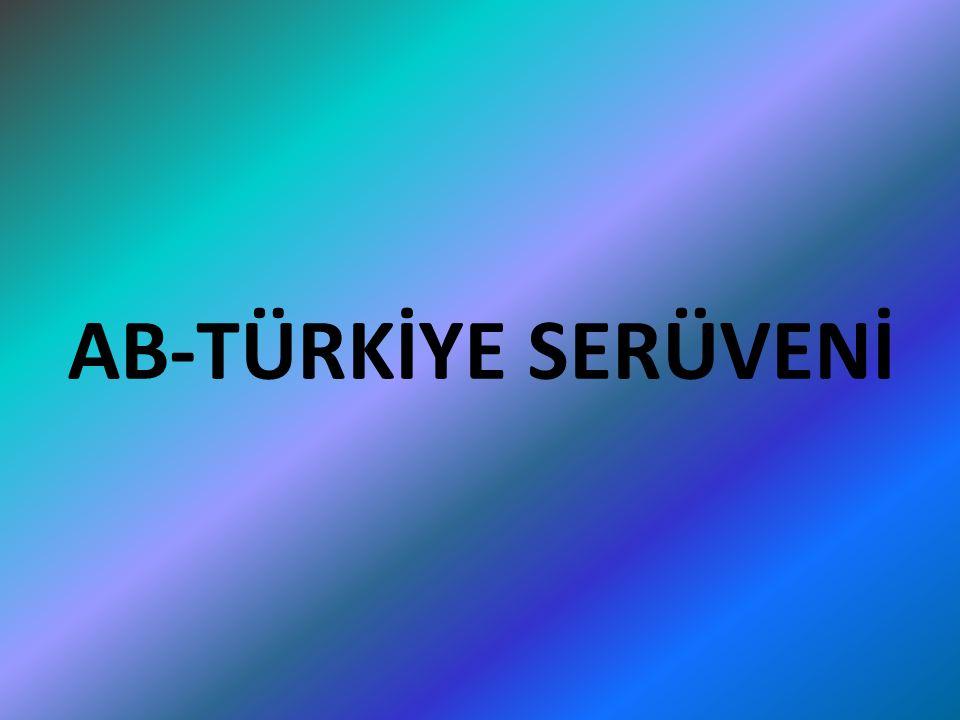 17 Aralık 2004:AB devlet ve hükümet başkanları Zirve toplantısında Türkiye'nin siyasi kriterleri yeterli ölçüde yerine getirdiği belirtilmiş ve katılım müzakerelerine 3 Ekim 2005 tarihinde başlanmıştır.