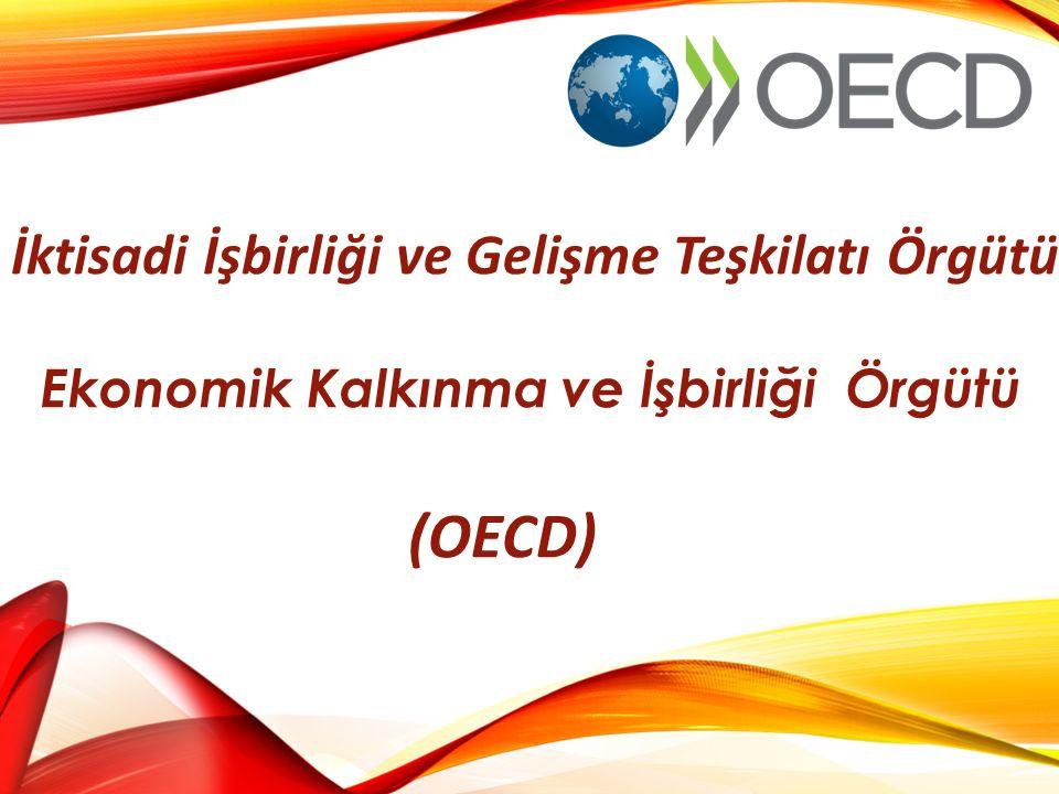 İktisadi İşbirliği ve Gelişme Teşkilatı Örgütü Ekonomik Kalkınma ve İşbirliği Örgütü (OECD)
