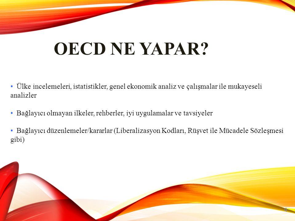 OECD NE YAPAR.