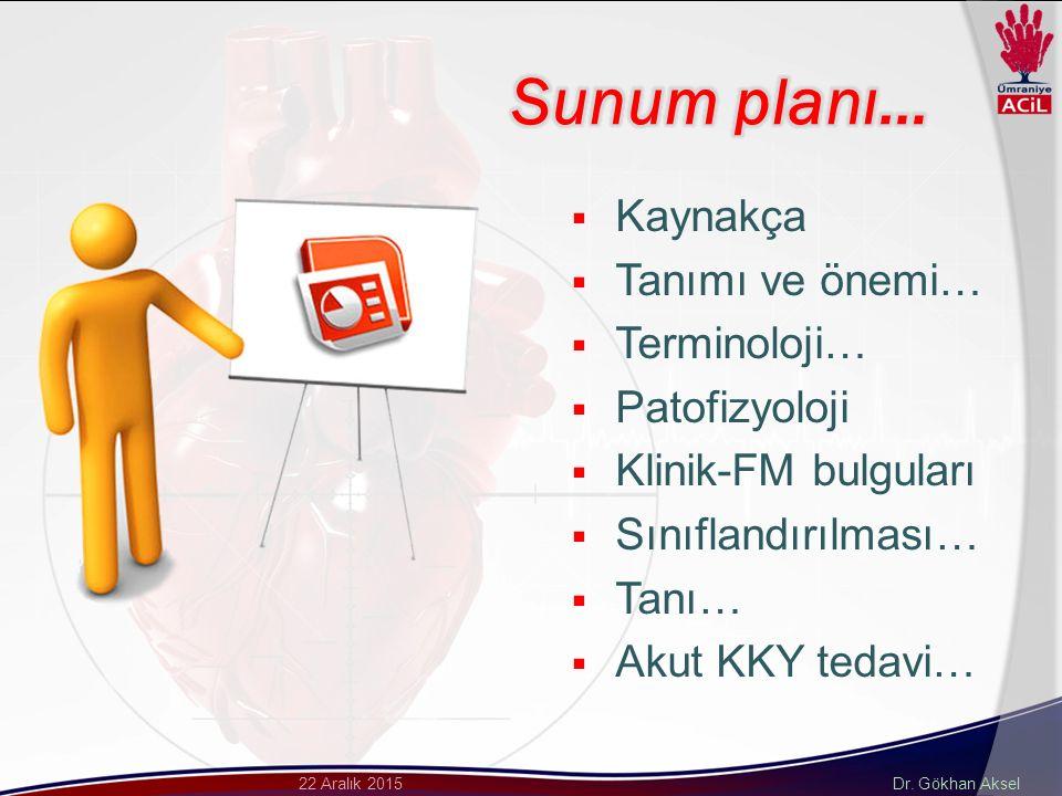 Dr. Gökhan Aksel22 Aralık 2015