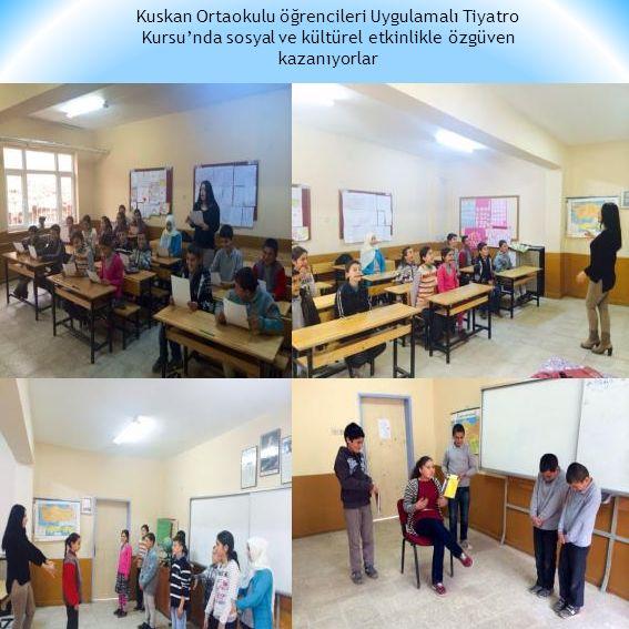 Destekleme ve Yetiştirme Kursu'nda mezun öğrencilerimiz deneme sınavındalar