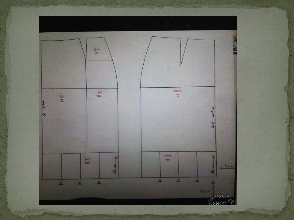 Model uyguladığımız etek kalıbı üzerinden ön ve arka etek kopyasını alınız.