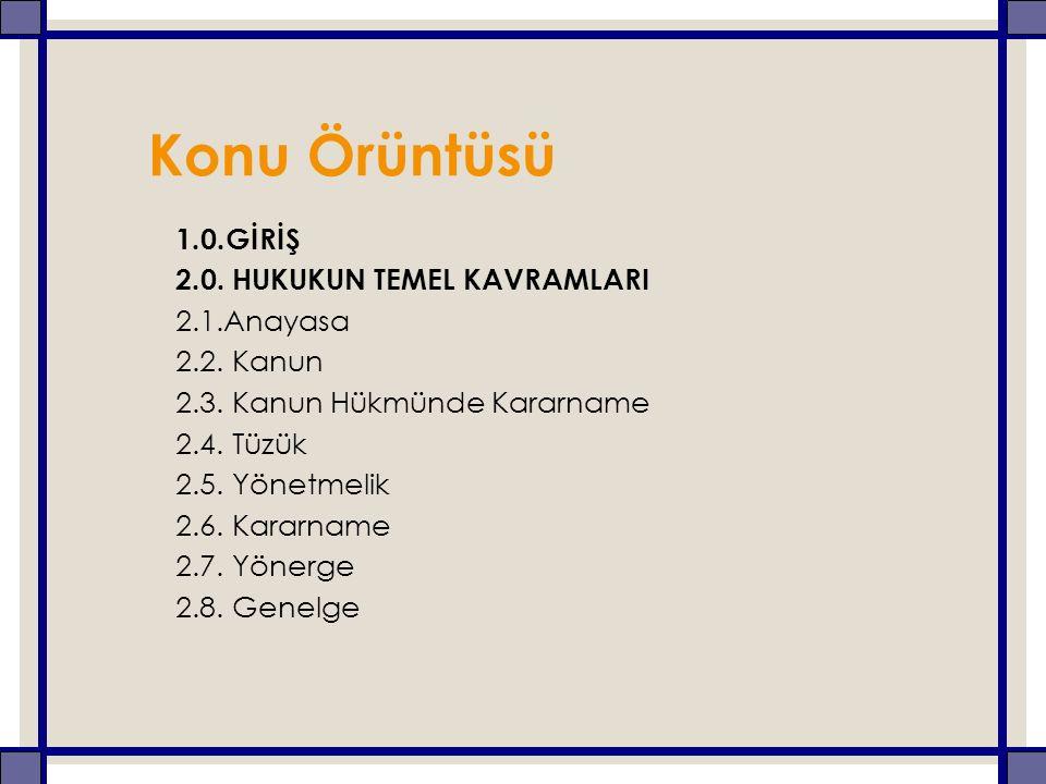 3.0.TANZİMAT'TAN GÜNÜMÜZE ANAYASALARDA EĞİTİM 3.1.