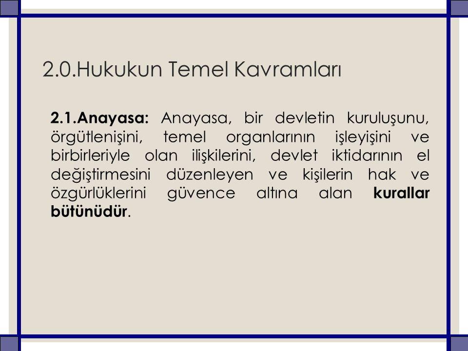◦ Eğitim ile ilgili sorunların çözümünde temele alınan en temel yasa anayasadır.