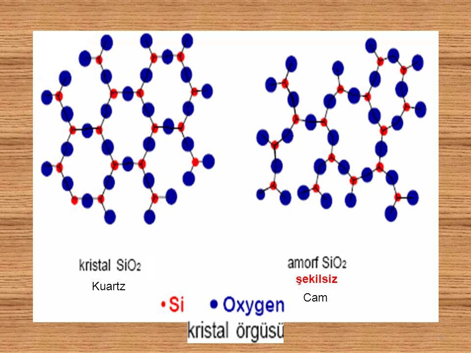 Kristal katılar için erime sırasında bütün katı madde sıvılaşıncaya kadar katının sıcaklığı değişmez.
