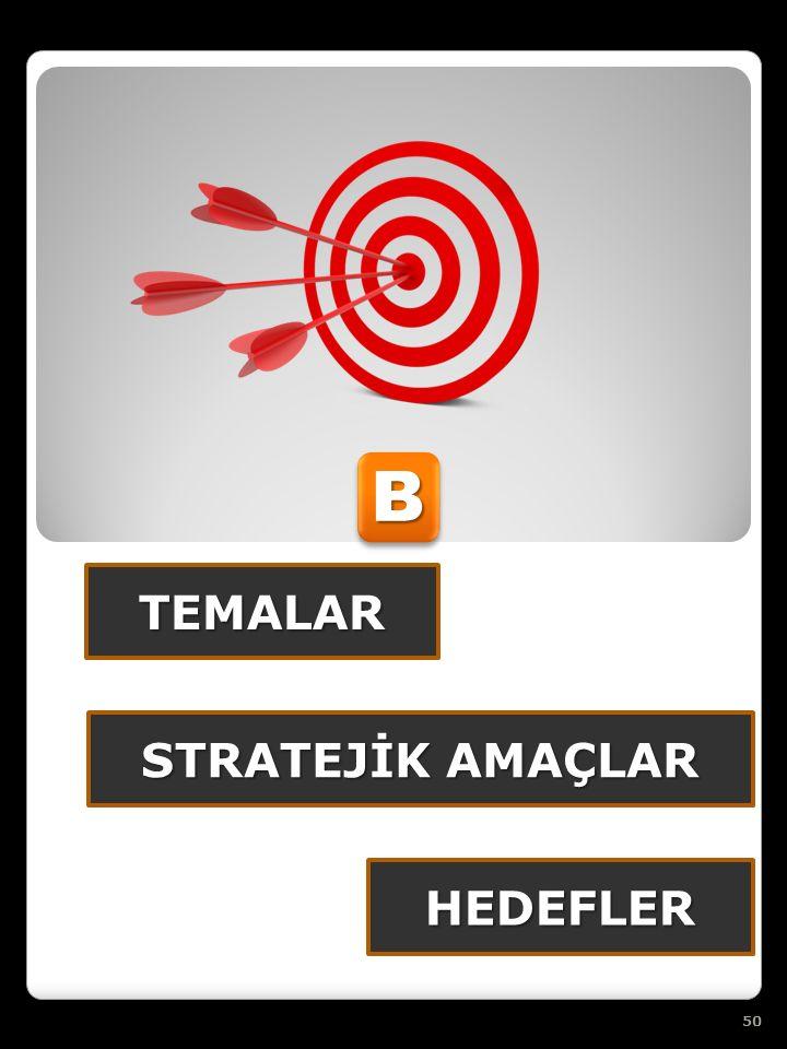 TEMALAR BB HEDEFLER STRATEJİK AMAÇLAR 50