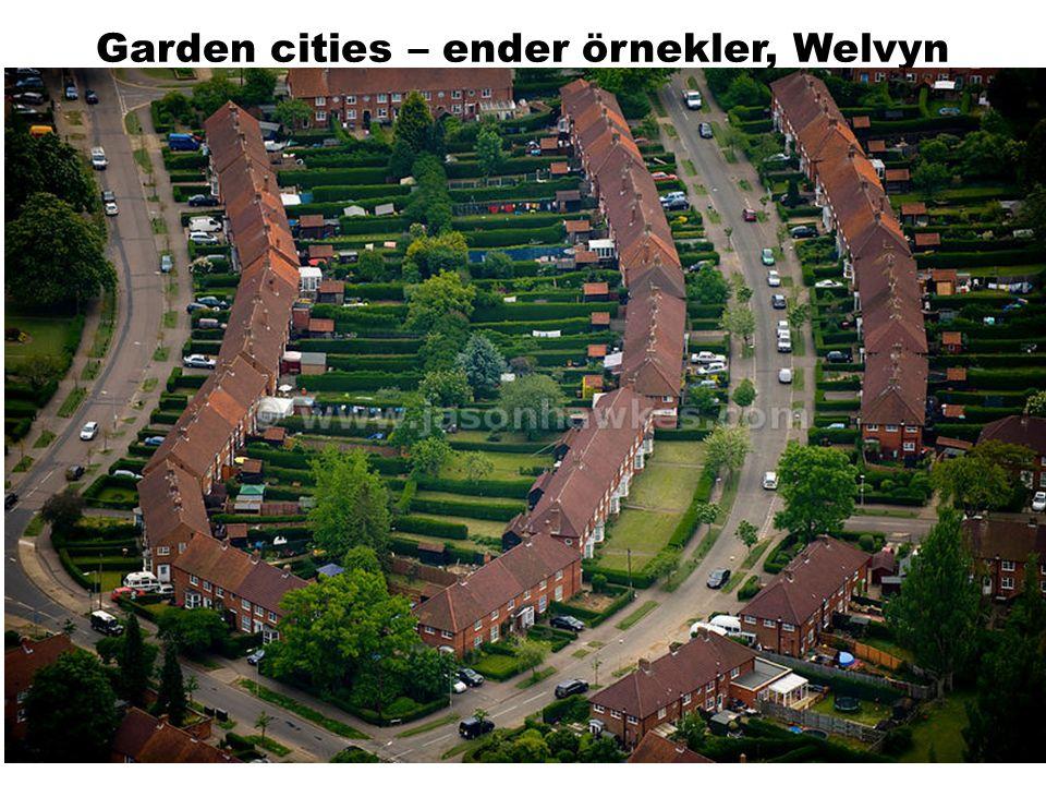 Garden cities – ender örnekler, Welvyn