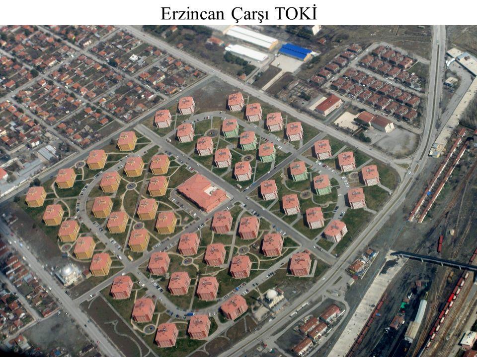 Original Garden City planning vs. typical TOKİ implementation