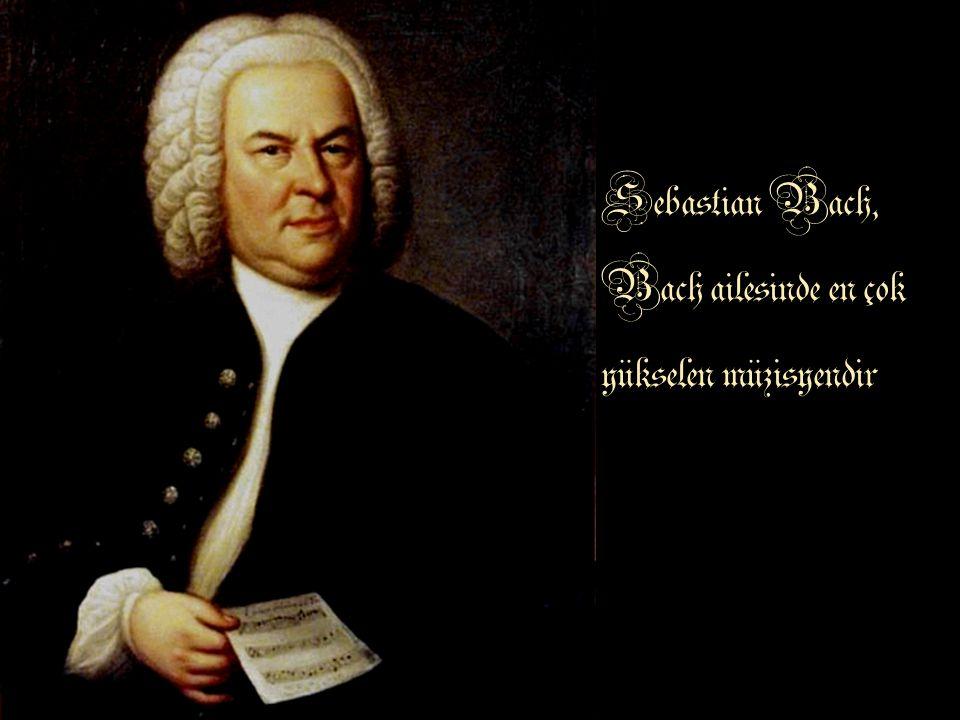 Sebastian Bach, Bach ailesinde en çok yükselen müzisyendir