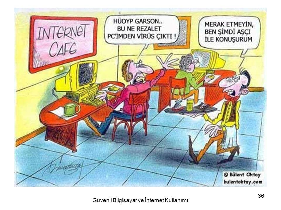 Güvenli Bilgisayar ve İnternet Kullanımı 36