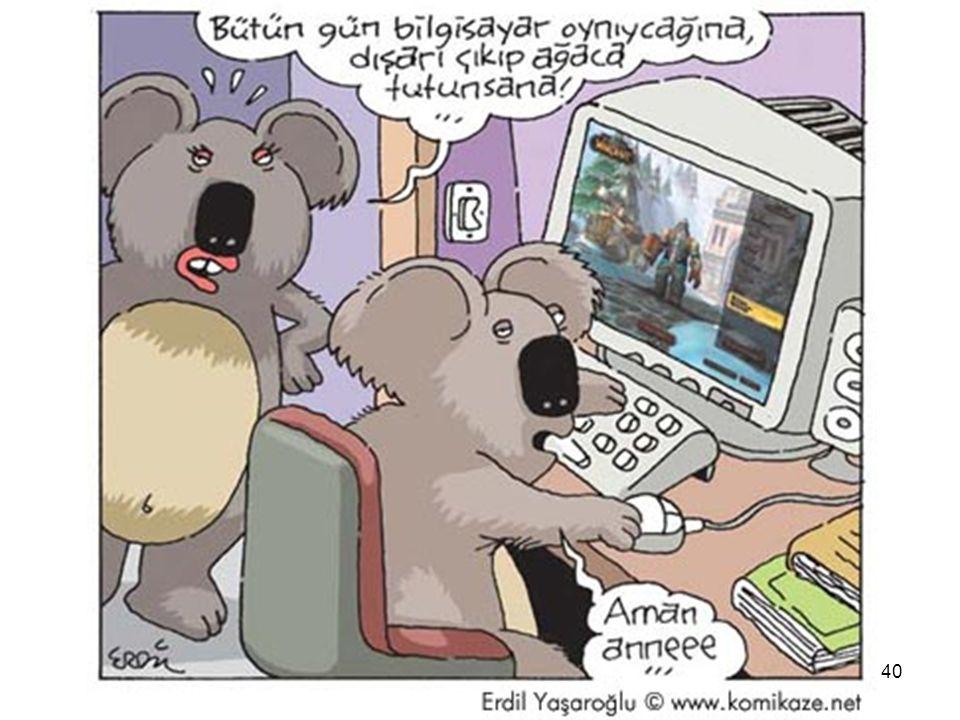 Güvenli Bilgisayar ve İnternet Kullanımı 40