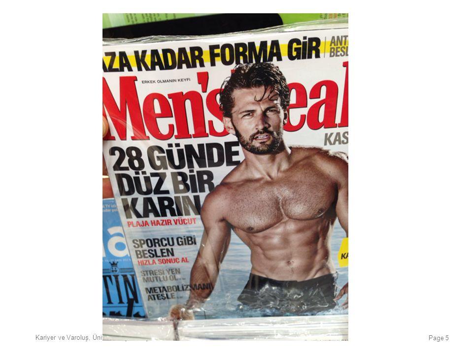 Kariyer ve Varoluş, Üniversite Çok Geç, İstanbul, 20 Ocak 2016 Page 6