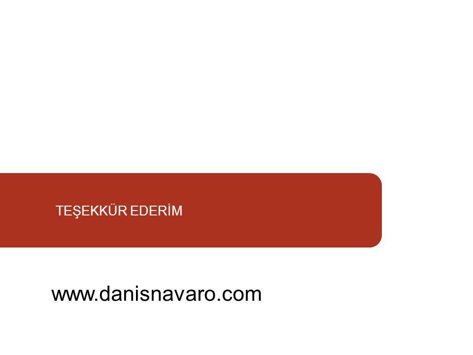 TEŞEKKÜR EDERİM www.danisnavaro.com