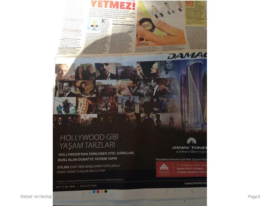 Kariyer ve Varoluş, Üniversite Çok Geç, İstanbul, 20 Ocak 2016 Page 9