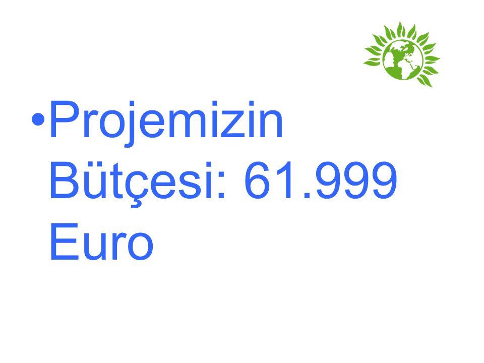 Projemizin Bütçesi: 61.999 Euro