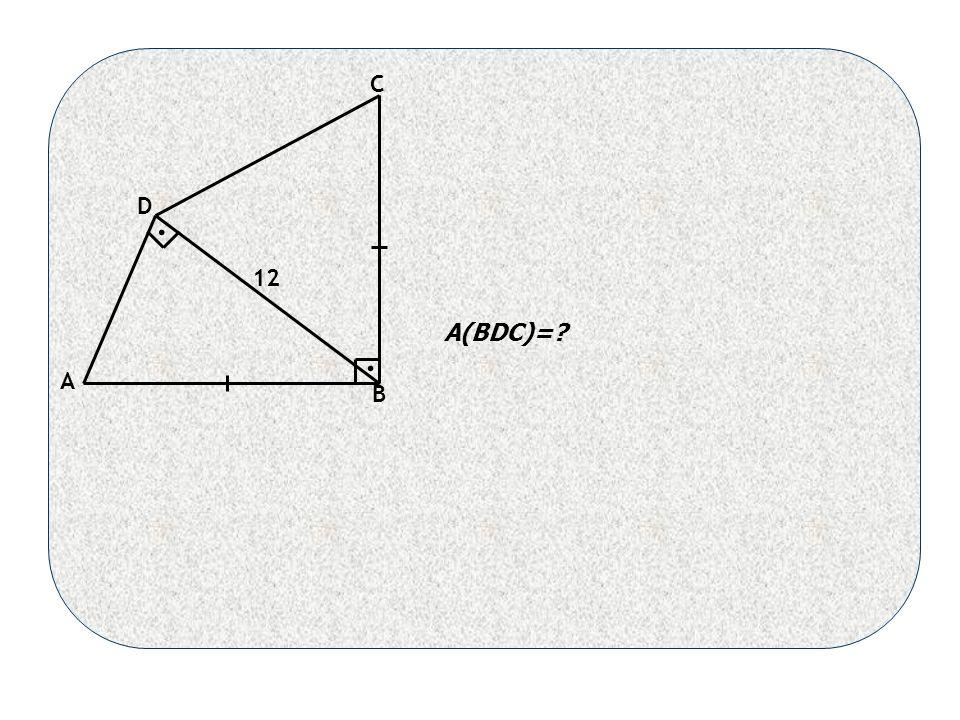 A B C D 12 A(BDC)= ..