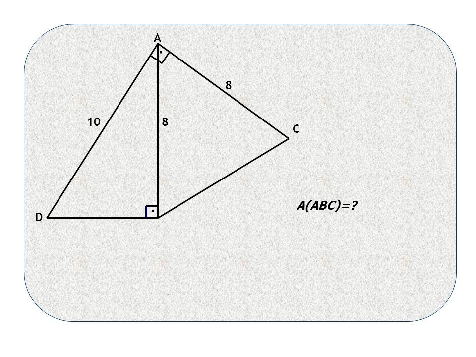 8 810 A C D A(ABC)= ..