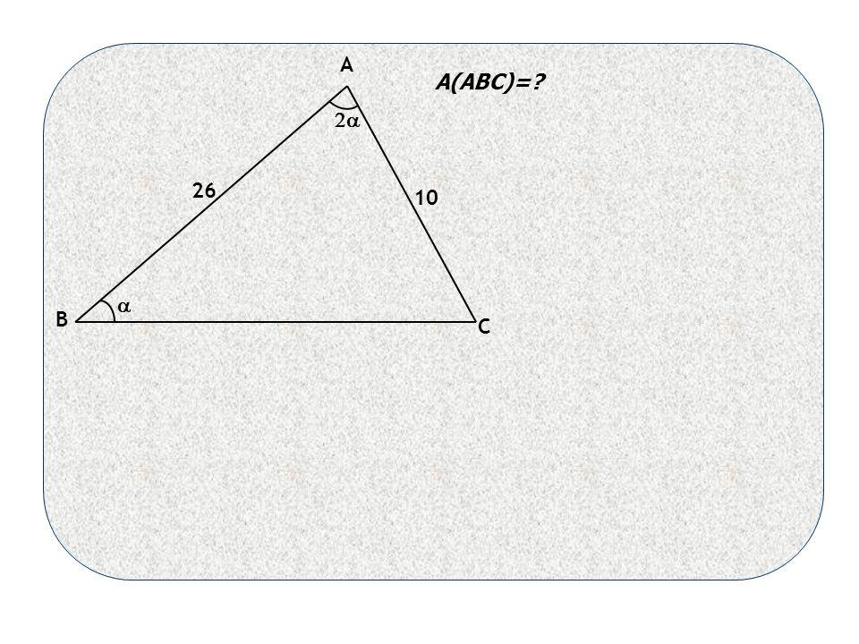A B C 26 10   A(ABC)=