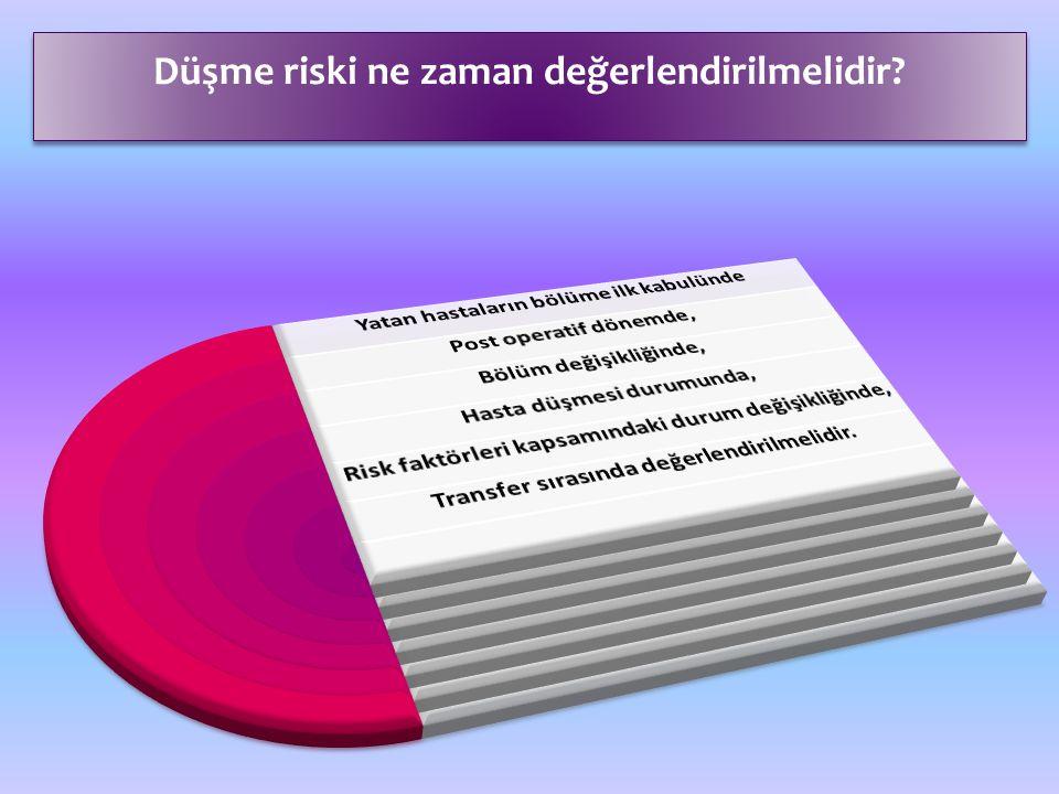 Düşme riski ne zaman değerlendirilmelidir?
