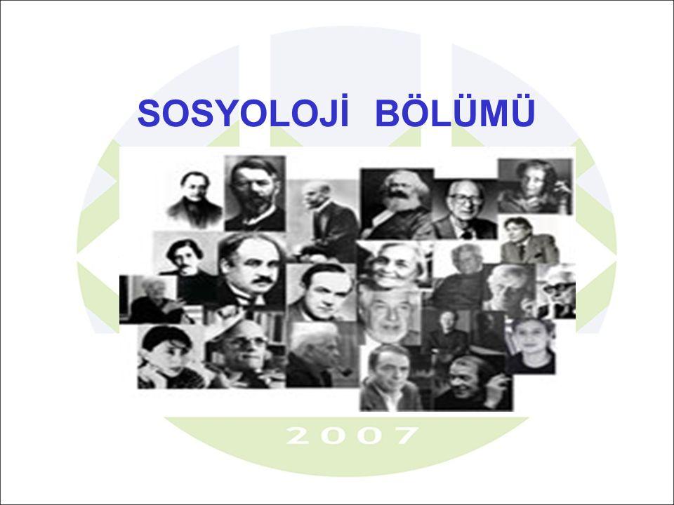 İnsanlık tarihinin en büyük organizasyonu olan toplumların; yapısını, gelişimini, değişimini, örgütlenme şekillerini ve kültürel dünyasını analiz etmek.