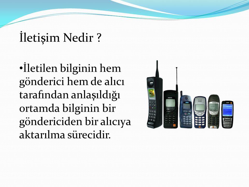 İletişim Nedir .
